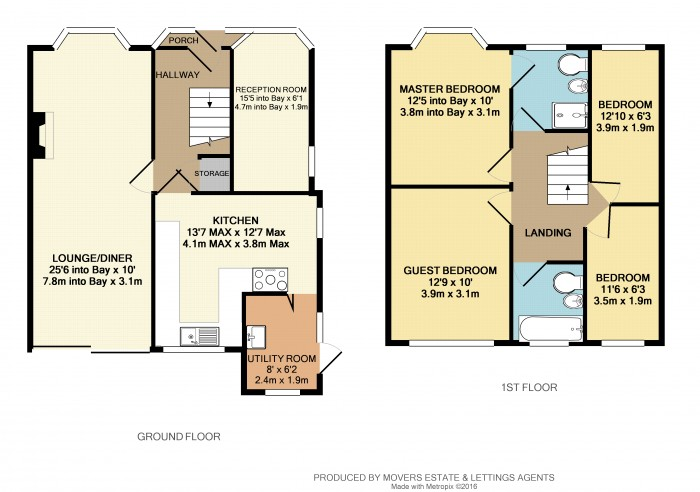 Floorplans For Rangoon Road, Solihull
