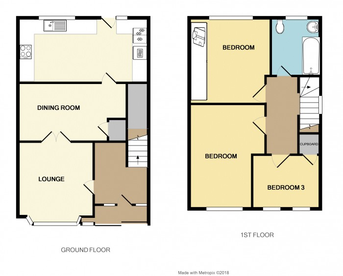 Floorplans For Victor Road, Solihull