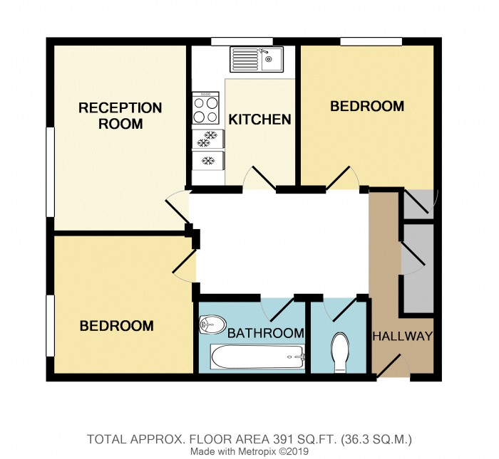Floorplans For Masons Way, Olton, Solihull