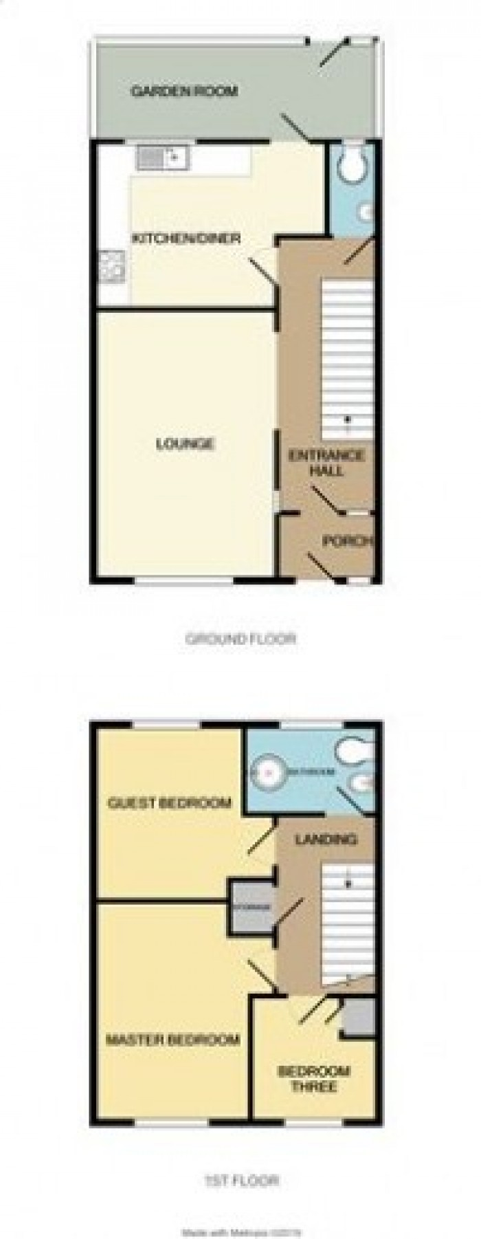 Floorplans For Masons Way, Solihull