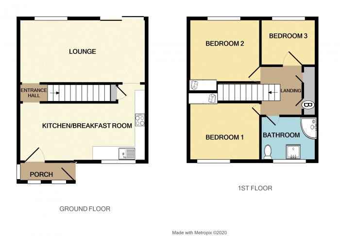 Floorplans For Raglan Way, Birmingham