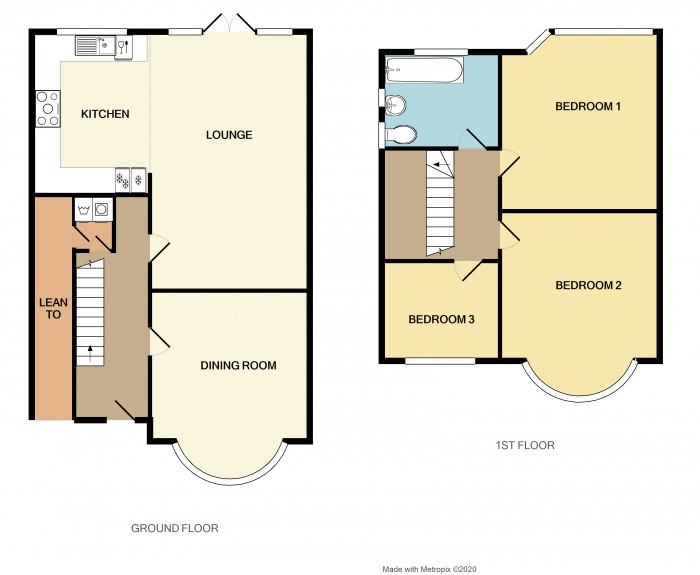 Floorplans For Lyndon Road, Solihull