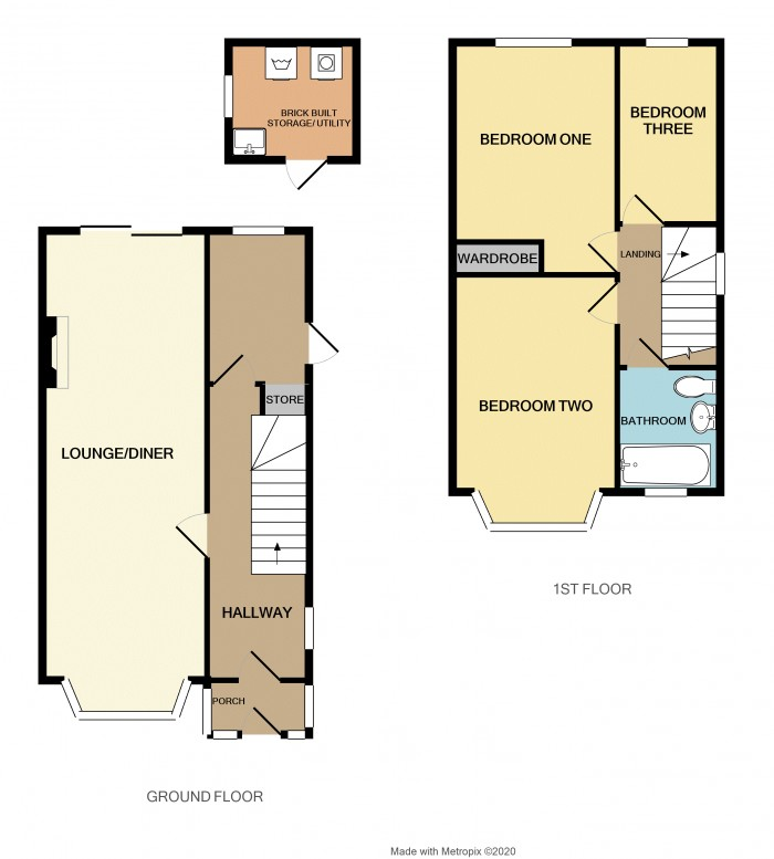 Floorplans For Wichnor Road, Solihull