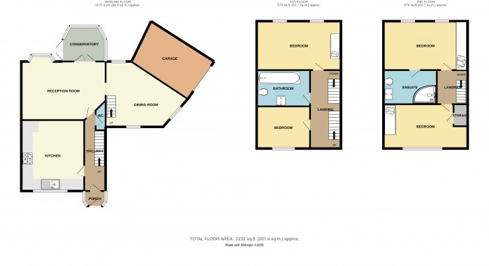 Floorplans For Wavers Marston, Marston Green