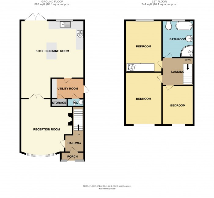 Floorplans For Digby Drive, Marston Green