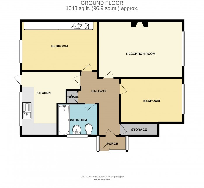 Floorplans For Campbells Green, Sheldon, Birmingham