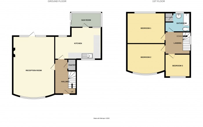 Floorplans For Jeremy Grove, Solihull
