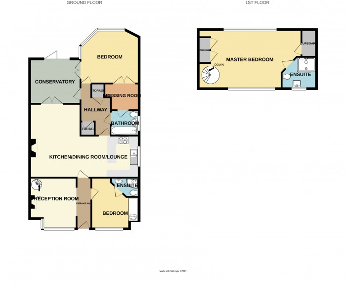 Floorplans For Blackfirs Lane, Birmingham